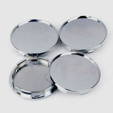 4pcs 68mm Chrome Silver Car Universal Wheel Center Hub Caps Covers Accessories S