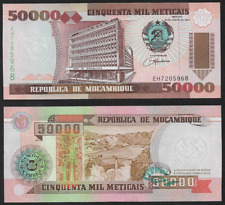 Africa Mozambique 50 000 Meticais UNC Banknote 1993 N13