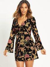 All Seasons Long Sleeve Velvet Dresses for Women