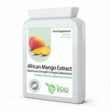 PURE African Mango Extract 18000mg x 60 Capsules HIGHEST STRENGTH UK MADE