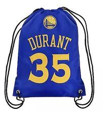 Kevin Durant #35 NBA Golden State Warriors Drawstring Backpack/Gym bag