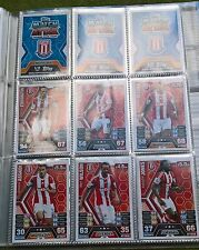 Match Attax - 2013/2014 - Stoke City - 11x Cards - Exc Con - Free Post!