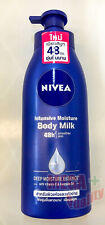 Nivea Intensive Moisture Body Milk Lotion 48h Smoother Skin Vitamin E 400ml