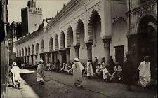 Alger ALGIERS Algeria Al-dschazā 'IR AK ~ 1920/30 Mosquee Rue de la Marine Mosque