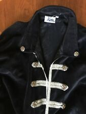 The Pirate Dressing XXL TALL BLACK VELVET Cosplay Steampunk LARP Halloween