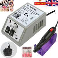 Manicure Electric Nail Art Drill Acrylic UV Gel Files Machine 20000RPM UK