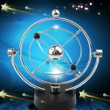Perpetual Motion Orbital Revolving Gadget Desk Office Home Decor Art Toy Gift