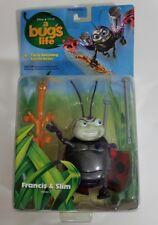 A Bugs Life Francis and Slim NEW Action Figure Disney Pixar Mattel 1998 NIP