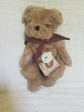 Boyds Bears Simon T. Poochley Dog Puppy Plush Brown Stuffed Animal