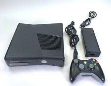 Microsoft Xbox 360 S Slim Console 320GB Drive Bundle w Controller 320 GB HDD