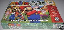 Mario Golf (Nintendo 64, 1999) Brand NEW!
