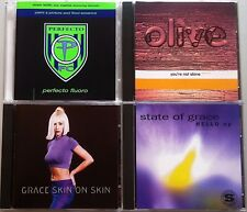 STATE OF GRACE JONES OLIVE PAUL OAKENFOLD 4x DJ CD MAN WITH NO NAME SISTER BLISS