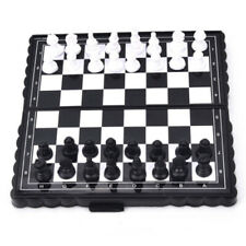 Portable Chess Kit Chess Pocket Travel Magnetic Foldable Chess Board 32pcs New