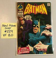 BATMAN #229 VF NEAL ADAMS COVER DC COMICS 1st APPEARANCE FUTURIANS 1971 ARKHAM