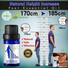 Natural Height Growth Boosting Increasing Foot Massage Essential Oil Herbal 10ml