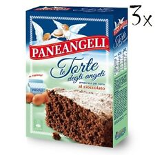 3x Paneangeli Torta degli angeli Cioccolato Schokolade kuchen Mischung 415g