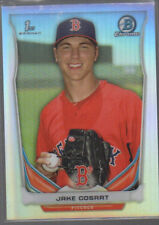 JAKE COSART 2014 BOWMAN CHROME DRAFT PROSPECTS REFRACTOR CARD #CDP101