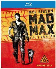 Mad Max Trilogy - 3 Disc Blu-Ray Boxset - OOP - George Miller