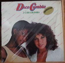 DISCO CUMBIA 2+2 DE COLOMBIA  VARIOUS SPAIN PRESS LP ORFEON 1979