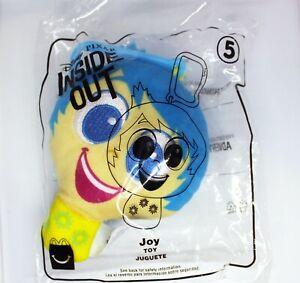 Disney Pixar Inside Out JOY Bag Clip-On 2020 McDonald's Happy Meal Toy #5 *NEW*