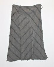 suzannegrae Brand Grey Black A Line Day Skirt Size 12 BNWT #TH17