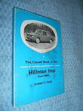 Hillman Imp (from 1963) HB w DJ original book