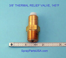 "3/8"" NPT THERMAL RELIEF VALVE FOR PRESSURE WASHERS, 145°F"