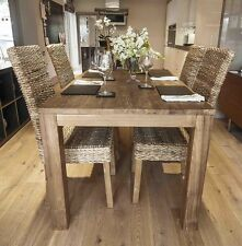 Malimbu 160cm Reclaimed Wooden Table and 6 Chairs