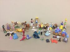 Huge lot Disney Cake Toppers toys Frozen Tangled Dory Aladdin Cinderella Beauty