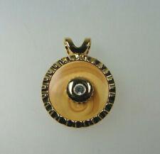 Neugablonz eleganter Collieranhänger Swarovski Elements  (36709)