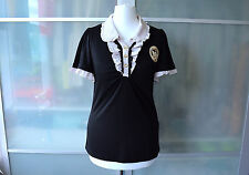 Axes Femme gothic Lolita black Victorian t-shirt top ~ JAPAN ~ JAPANESE ~ goth