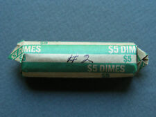 1956-1959 ROOSEVELT SILVER DIMES CIRCULATED ROLL (50 COINS) #2