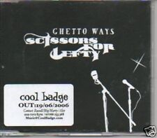 (395A) Ghetto Ways, Scissors for Lefty - DJ CD