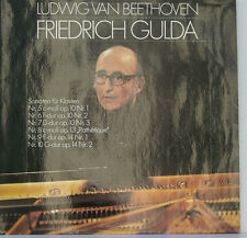 BEETHOVEN SONATE PER PIANOFORTE FRIEDRICH GULDA AMADEO 0900109 [d82]