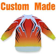 Custom Made Motocross BMX Jerseys Shirts Tops Adult&Kids