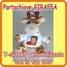 """PORTACHIAVI """"GIRAFFA"""" PERSONALIZZATO CON LA TUA FOTO!"""
