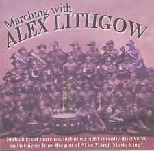 Marching With Alex Lithgow (CD, band music)