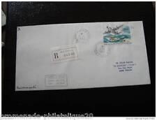 TAAF lettre 1/1/93 - timbre aérien yt n°128 (cy4)