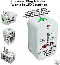 Universal Travel Adapter Plug Converter US EU AUS NZ UK And 145 Other Countries
