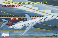 Eastern Express 1/144 Airliner B-717 DELTA EE144124