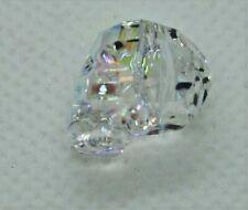 Swarovski Crystal AB Skull Bead 5750 Approx 13mm 1pk