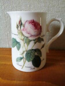 Roy Kirkham, Redoute Roses. Milk Jug, Very Good Condition