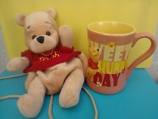 Disney Store  Exclusive Winnie The Pooh Large 3D Mug + Free Soft Toy Backpack
