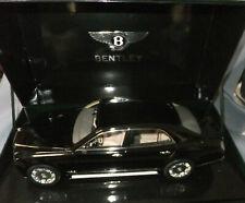 Minichamps 1:18 Scale 2010 Bentley Mulsanne in Rare Black Boxed Mint Condition