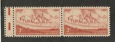 US 1061 @ (1954) EFO: Guttersnipe w/EE dash (Kansas Territorial Centennial)