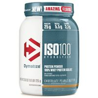 Dymatize ISO 100 Hydrolyzed Whey Protein Isolate 1.6 lbs - 25 Serves PICK FLAVOR