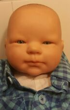 Berenguer Baby Boy Girl doll decoration / play Bald head. Blue eyes - Life Like