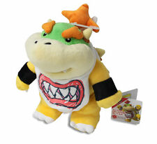 """BRAND NEW AUTHENTIC 7"""" Bowser Jr. Plush Doll Super Mario Bro Series by Sanei"""