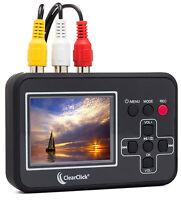 ClearClick Video2Digital Converter VHS To Digital DVD Recorder VCR Hi8 Camcorder