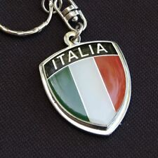 Italy Italia Crest Key Chain